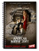 American Horror Story 2011 Spiral Notebook
