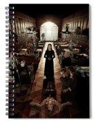 American Horror Story Asylum 2012 Spiral Notebook