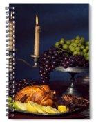 Artistic Food Still Life Spiral Notebook