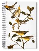 Audubon: Warbler Spiral Notebook