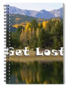Autumn Aspen At Crystal Creek Reservoir Pikes Peak Spiral Notebook
