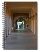 Balboa Park, San Diego Spiral Notebook