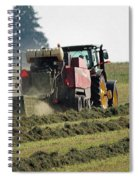 Baling Hay Spiral Notebook