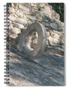 Ball Court At The Coba Ruins  Spiral Notebook