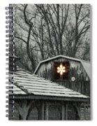 Barn Star Spiral Notebook