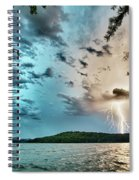 Beautiful Landscape Scenes At Lake Jocassee South Carolina Spiral Notebook
