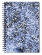 Berlin Germany City Map Spiral Notebook