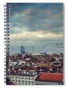 Berlin Skyline Spiral Notebook