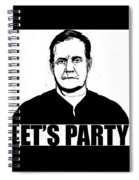 Bill Belichick Spiral Notebook