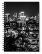 Birmingham Alabama Evening Skyline Spiral Notebook
