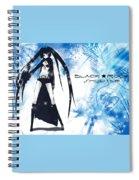 Black Rock Shooter Spiral Notebook