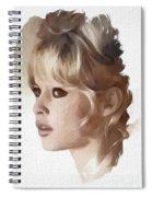 Brigitte Bardot, Actress Spiral Notebook