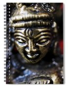 Buddha Sculpture Spiral Notebook