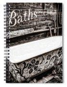 5 Cent Bath Spiral Notebook