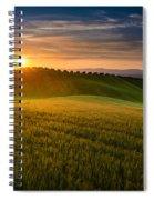 Cereal Fields Spiral Notebook