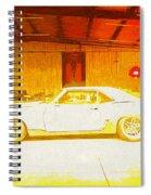 Chevrolet Camaro Spiral Notebook
