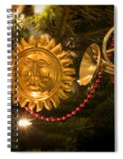 Christmas Tree Decorations Spiral Notebook