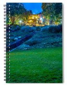 Classic Historic Banquet And Event Home And Backyard Spiral Notebook