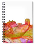 Colorado Springs Colorado Skyline Spiral Notebook