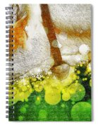 Cow With Bell Spiral Notebook