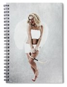 Cupid The God Of Desire Spiral Notebook