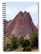 Dakota Trail At Garden Of The Gods Spiral Notebook