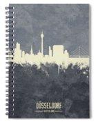 Dusseldorf Germany Skyline Spiral Notebook