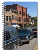 Emma Crawford Coffin Races In Manitou Springs Colorado Spiral Notebook