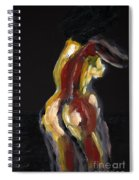 Fat Nude Woman  Spiral Notebook