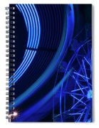Ferris Wheel In Motion Spiral Notebook