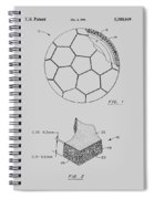 Football Patent Spiral Notebook