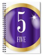 5 For Five Spiral Notebook