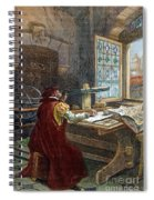 Galileo Galilei, 1564-1642 Spiral Notebook