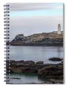 Godrevy Lighthouse - England Spiral Notebook