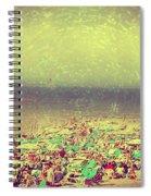 Gordon Beach, Tel Aviv, Israel Spiral Notebook