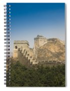 Great Wall Of China - Jinshanling Spiral Notebook