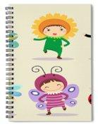 Happy Children  Spiral Notebook