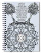 Hebrew Prayer- Toda- Thanks To The Lord Spiral Notebook