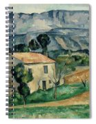 House In Provence Spiral Notebook