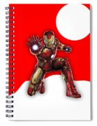 Iron Man Collection Spiral Notebook