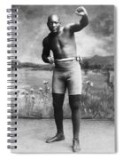 Jack Johnson (1878-1946) Spiral Notebook