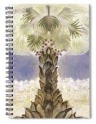 Jerusalem- Tryptich Part  2 Spiral Notebook