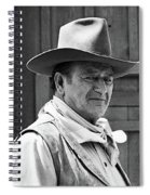 John Wayne Rio Lobo Old Tucson Arizona 1970 Spiral Notebook
