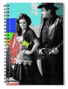 June Carter Cash Johnny Cash In Costume Old Tucson Az 1971-2008 Spiral Notebook