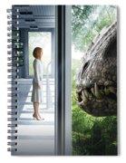 Jurassic World 2015  Spiral Notebook