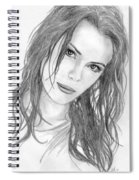 Miss Beckinsale  Spiral Notebook