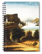 Lake George And The Village Of Caldwell Spiral Notebook