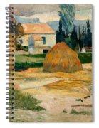 Landscape Near Arles Spiral Notebook