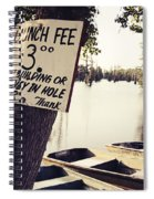 Launch Fee - Toned Spiral Notebook