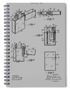 Lighter Patent From 1934 Spiral Notebook